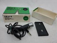Akai Dynamic Microphone Non Directional Mic DM-13, Box, Music Amateur HAM Radio