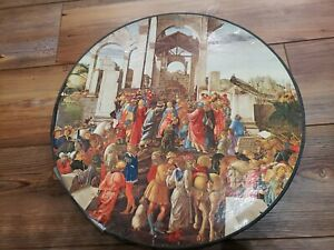 Springbok Round Puzzle, The Adoration Of The Kings # C933