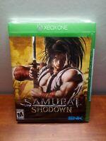 Samurai Shodown for Xbox One Brand New Factory Sealed