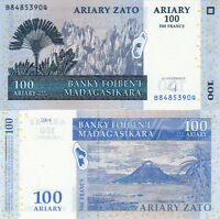 BILLET BANQUE MADAGASCAR 500 FRS 100 ARIARY 2004 NEUF NEW UNC