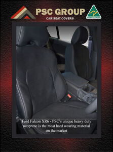 Seat Covers Front Ford Falcon BA BF FG FGX XR 100% Waterproof Premium Neoprene