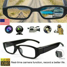 USA Mini HD Spy Camera Glasses 1080P Hidden Eyeglass Sunglasses Cam Eyewear DVR