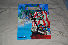 Legoland Gift Bag Junior Pirates HTF Lego Image 7075 Redbeards Ship 8 x 10