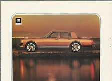 1978 CADILLAC SEVILLE advertisement, Cadillac ad, Seville sedan