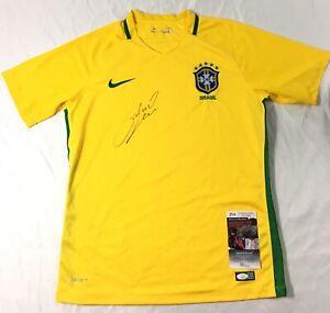 Gabriel Jesus Signed Brazil Jersey JSA Coa Manchester City