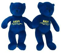 "Department Of The Navy Bears 8"" Plush Toys"