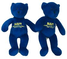 """Department Of The Navy Bears 8"""" Plush Toys"""