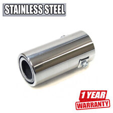 Car Exhaust Tip Trim Tuning Pipe For Fiat Albea Bravo Doblo Ducato Panda Stilo