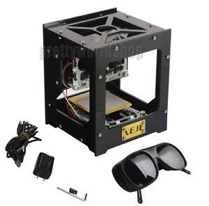 USB DIY 300mW Laser Cutting Engraving Machine Printer Engraver Logo Picture