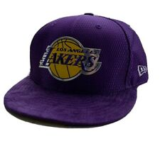LA Lakers  New Era NBA On-Court Collection Draft 59fifty, Adjustable Snap-Back