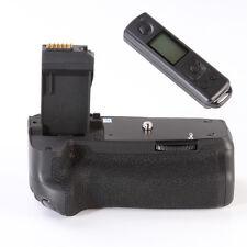 PRO Vertical Battery Grip for Canon EOS 760D 750D Rebel T6s T6i as BG-E18 LP-E17