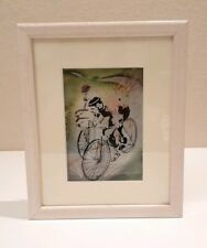 Jean Pierre Weill Limited Edition 45/950 Painting on Glass Layers Shadow Box 3D