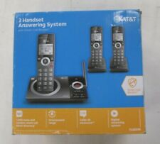 AT&T Model CL82319 (3) Handset Answering System with Smart Call Block Phones