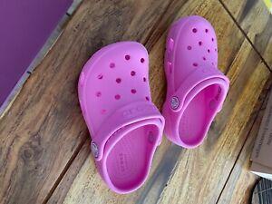 crocs 25/26 c9 pink sehr guter Zustand