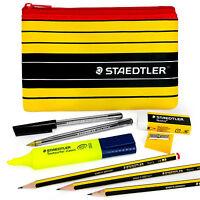 Staedtler - Noris 120 - Pen and Pencil Case Set + Highlighter, Sharpener, Eraser