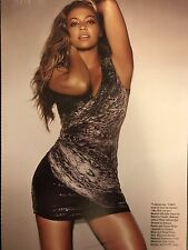 Beyonce Knowles 7pg + cover ALLURE magazine feature, clippings