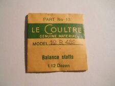 LeCoultre Watch Repair Part#13 Model 12R489 Balance Staff Genuine New