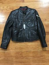 Flying Bikes Vintage Oakwood Women's Leather Riders Jacket Medium Free Shipping!