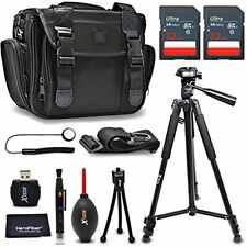 Xtech Accessories Kit for Nikon D810 with 64Gb Memory, Case, Tripod