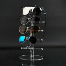 Sunglasses Display Stand Fashion Acrylic Show Rack Counter Glasses Holder 5 Pair