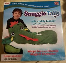 Soft Cuddly Snuggie Tails Blanket. Fiery Dragon. As Seen On TV New