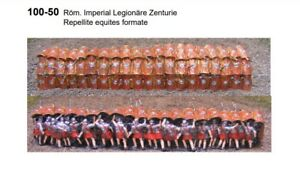 MGM 100-50 1/72 Resin Roman Imperial Legion in Repel Formation