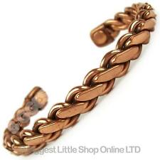 Magnetic Copper Bracelet LINK Chain Design  - Magnet Therapy HEALTH Benifits,49
