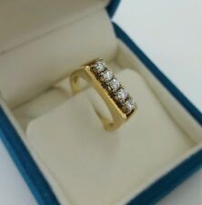 14kt 585 Goldring/Brillantring 0,25ct