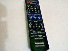 Panasonic Theater System Remote N2QAYB000214 TV DVD Video Sound iPod AM/FM Radio