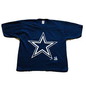 Vintage Dallas Cowboys Riddell Jersey Shirt NFL Football USA MADE Mens Size XL
