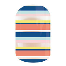 "Jamberry ""Bayside"" Nail Wrap 1/2 Sheet ~ Clear ~"