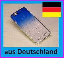iPhone 6 RainDrop Schutzhülle HardCase Hülle  Regentropfen Premium Optik   B8L