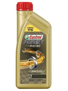 Castrol Power1 Racing Full Synthetic Motorcycle Engine Oil 2T 1L 3384385