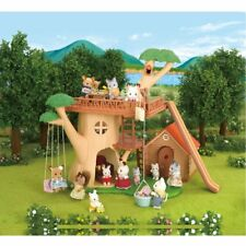 Calico Critters Adventure Tree House Bonus Gift Set Furniture Kids Toy Playset