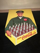 """""""VTG. STYLE"""" ANDE ROONEY-COCA-COLA """"DELIVERY COCA-COLA MAN""""holding FULL CASE"""