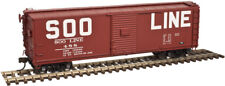 Soo Line Railroad Usra Steel Rebuilt Box Car By Atlas Model Rr -Ho-Scale