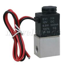 DC12V Two-way Electric Solenoid Valve Direct Motion G1/8'' Normally Open