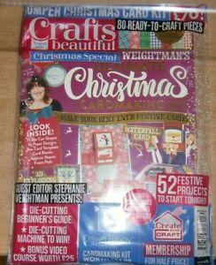 Crafts Beautiful magazine XMAS 2021 Bumper Christmas Special Card Kit