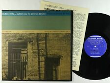 Brownie McGhee - Traditional Blues Vol. I LP - Folkways VG+