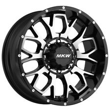 New Listing4 New 20 Inch Mkw Offroad M95 20x9 5x150 10mm Blackmachined Wheels Rims