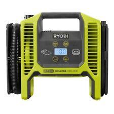 Ryobi 18V Cordless Portable Air Compressor Inflator/Deflator Car Bike Tire Pump