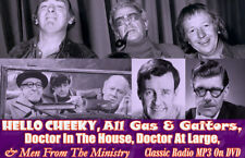 Hello Cheeky, All Gas & Gaitors & Much More Classic Comedy Radio MP3 DVD