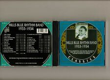 MILLS BLUE RHYTHM BAND 1933-34 CLASSICS CD LONG OUT OF PRINT NEW SEALED