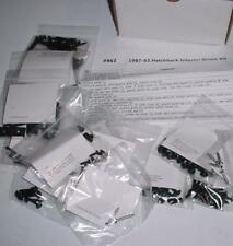 NEW 87-93 Mustang Hatchback Interior Screw Kit $0 S&H