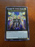 YuGioh Number 93: Utopia Kaiser NM (1st Ed.) BLHR-EN093 Secret Rare Card