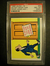 1968 LAUGH IN CARD #65 TOPPS  GRADED PSA 8 (MC)