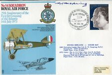 WW2 RAF Battle of Britain ace Bobby Oxspring signed 54 Squadron cover