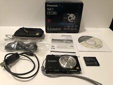 Panasonic LUMIX DMC-SZ1 16.1MP Digital Camera 10X Leica Lens Working Well w/Case