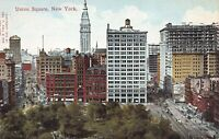 Union Square, Manhattan, New York City, N.Y., early postcard, unused