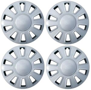 "NEW 2006-2011 Ford CROWN VIC VICTORIA 17"" Hubcap Wheelcover SET of 4 Silver"